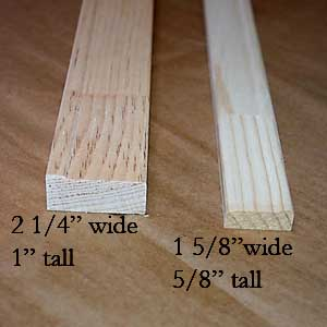 deep 1 and less deep 58 stretching frames - Wood Frames For Canvas